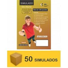 Pacote de 50 Simuladão do DETRAN - 1200 questões  (R$ 3,20 cada)
